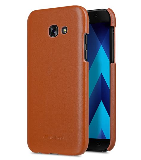 Leather Galaxy A7 premium leather snap cover for samsung galaxy a7 2017