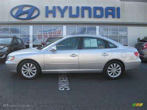 2007 hyundai azera limited 2007 silver metallic hyundai azera limited 62036224