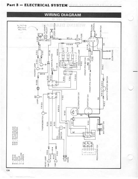 ford 3000 tractor switch wiring diagram free