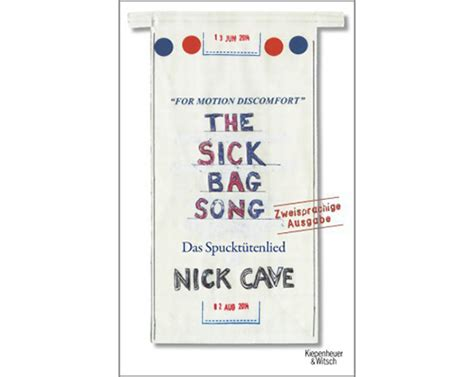 the sick bag song quot the sick bag song das spuckt 252 tenlied quot von nick cave tip berlin