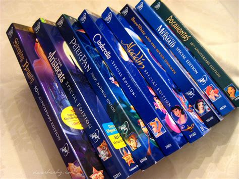 personaggi caf disney dvds a slowly growing collection barb