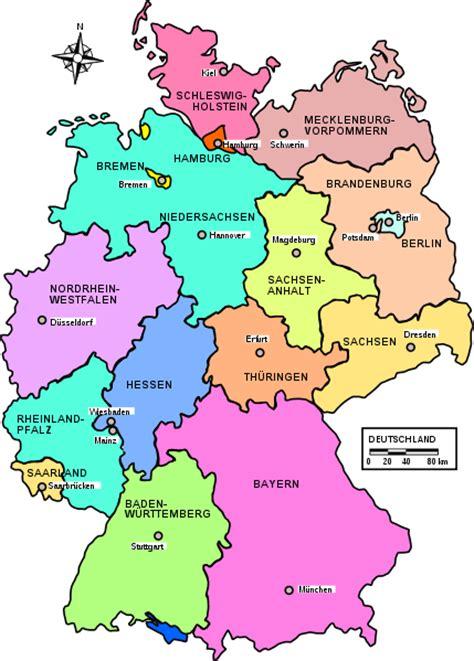 Kare Deutschland by Karte Deutschland Stadt Regionalen Politisch