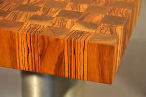 end grain wood countertops by custom