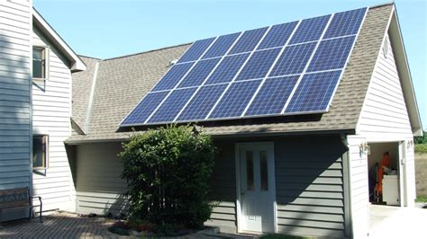 solar installation voltage electric