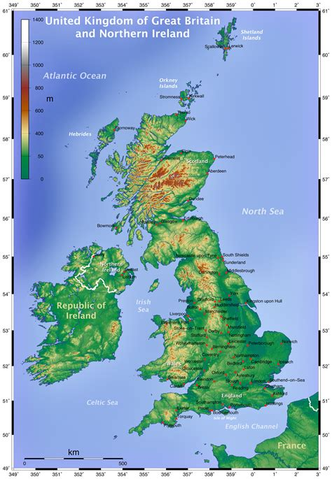 map uk and maps of the united kingdom detailed map of great britain