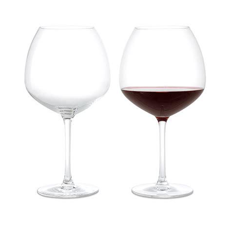 wine glass premium set of two red wine glasses