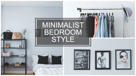 minimalist bedroom style youtube