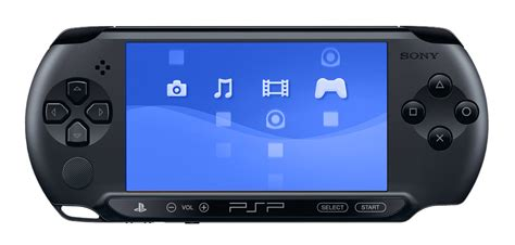 psp 4 console playstation portable e 1000 console charcoal black 4