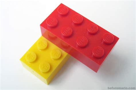 Blocks Lego beforemario n b block vs lego 任天堂 ブロック vs レゴ