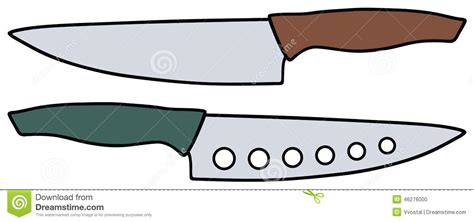Ceramic Kitchen Knives kitchen knives stock vector image 46276000