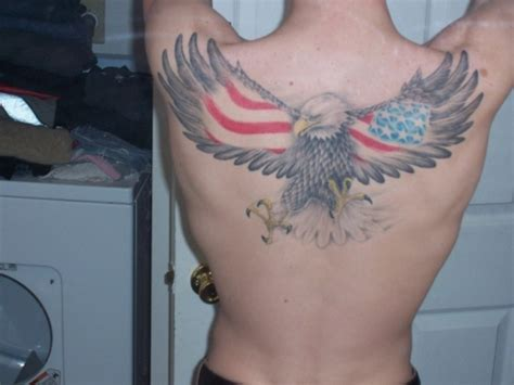 eagle with american flag tattoo designs lucas carthon