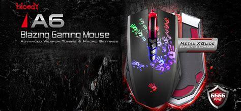 Mouse Bloody A6a teclado