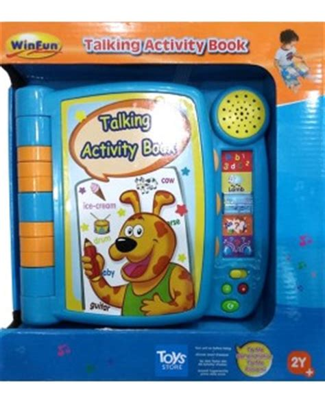 Special Produk Winfun Talking Activity Book Baby Toys