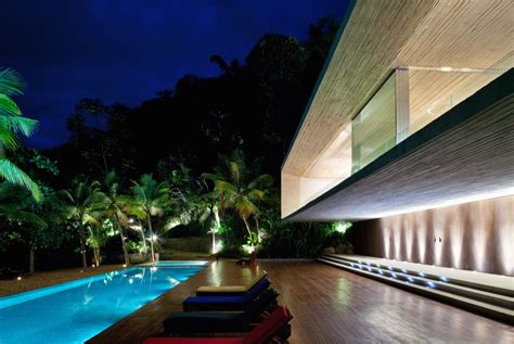 brazilian homes modern beach house on the brazilian coast idesignarch