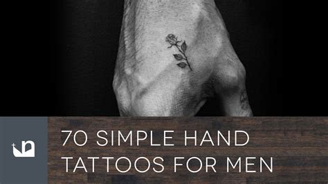 simple hand tattoos for men 70 simple tattoos for