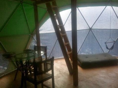 Geodesic Dome Home Interior Tiny Geodesic Dome On Stilts With A View