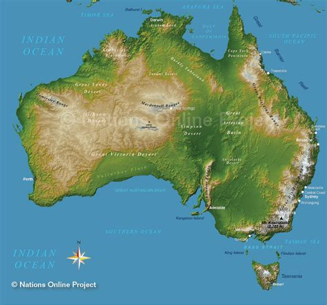 topographic maps australia topographic map of australia nations project