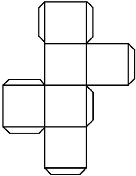 cuboid net template printable cube template 3d cube template free premium templates