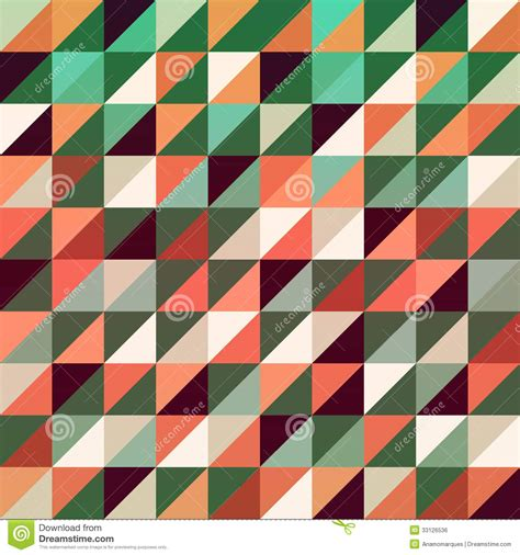 pattern for geometric shapes triangles background stock vector image of background