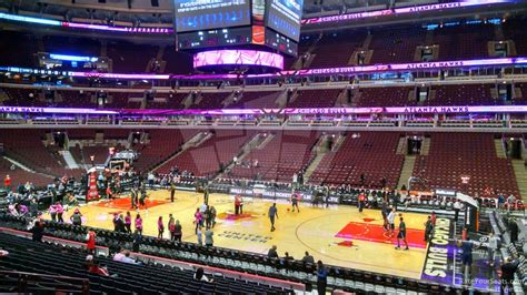 section 101 united center chicago bulls united center section 110 rateyourseats com