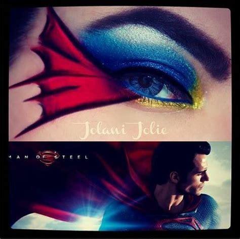 superman eye color superman make up superman and