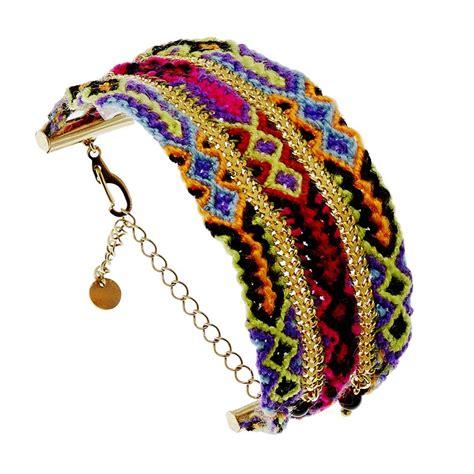 Bracelet brésilien manchette   Bijoux Fantaisie Créateurs