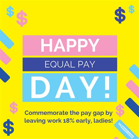 happy equal pay day the newsflasher