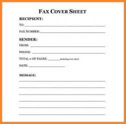 Cover Sheet Resume Exle by Exle Fax Cover Sheet Bio Resume Sles
