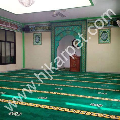 Karpet Bulu Di Pasar Jatinegara pemasangan karpet masjid aminul ihsan hjkarpet