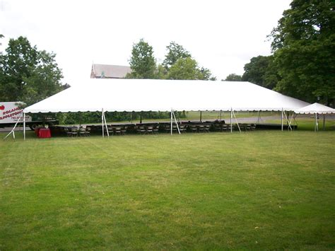 appleton tent and awning frame tent 40 x 100 roland l appleton inc