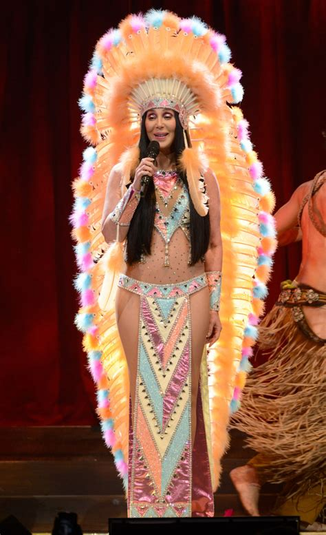 cher wows with outrageous outfits at dressed to kill cher wows fans in almost naked outfit on her dressed to