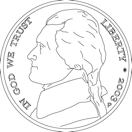color of nickel handwriting for coloring book money united