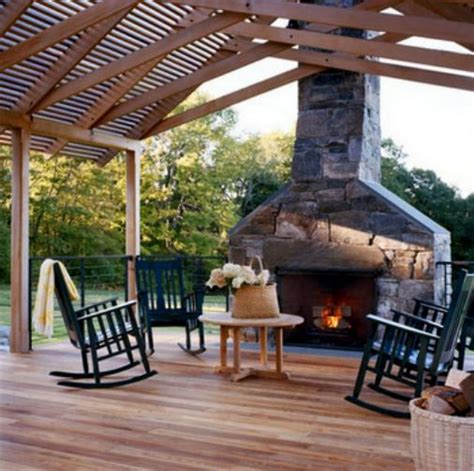 Fireplace Deck by Outdoor Deck With Fireplace For The Home