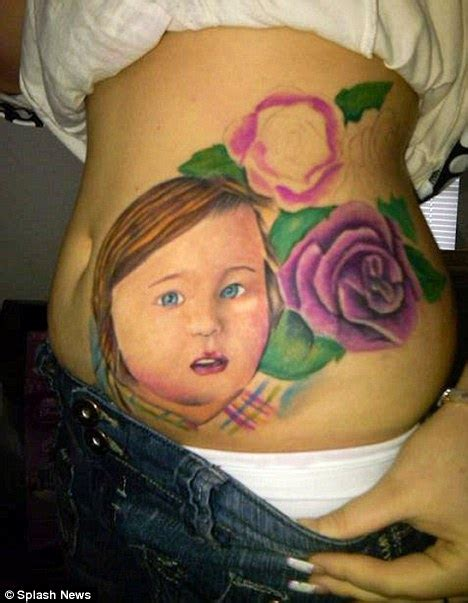 teen tattoos s portwood tattoos s lifesize