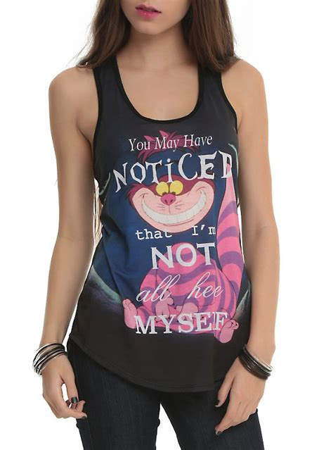 Singlet Disney Story disney in cheshire cat sublimation tank top topic