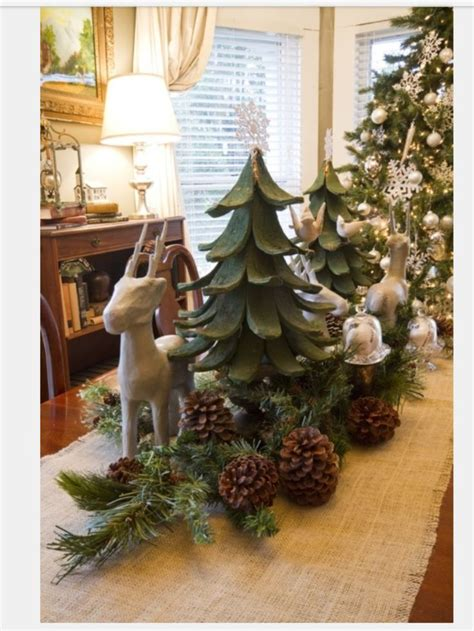 woodland christmas christmas decor ideas pinterest