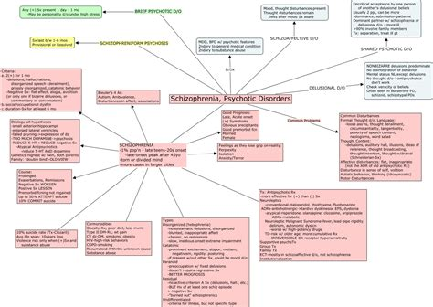 The Diagnosis Of Psychosis a schizoaffective disorder concept map christopher