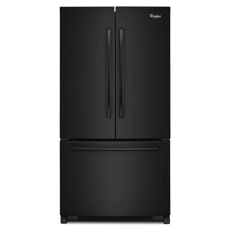 Countertop Depth Fridge by Shop Whirlpool 20 Cu Ft Counter Depth Door