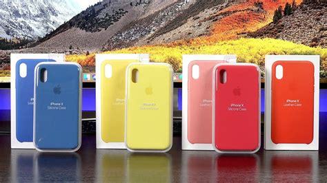 apple iphone cases new colors 2018