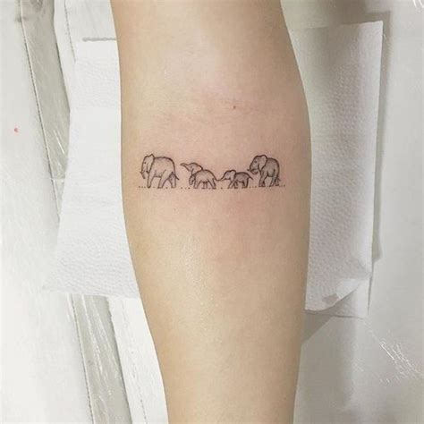 family elephant tattoo meaning 30 tiny tattoo ideas for major inspiration elephant
