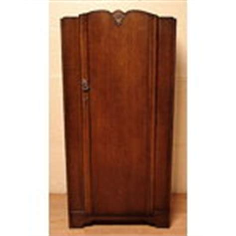 armoire coat closet small art deco oak child s wardrobe armoire coat closet