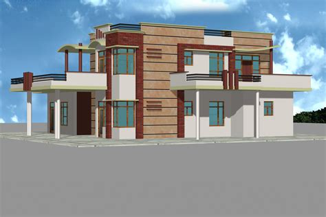 duplex house plans with elevation duplex house plans front elevation
