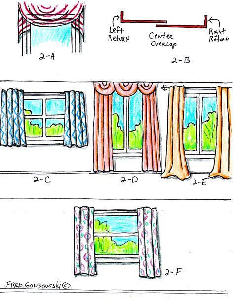 how to hang draperies the right way to hang curtains and drapes fred