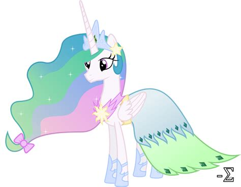 Princess Celestia S Gala Dress By 90sigma On Deviantart My Pony Princess Celestia Pictures
