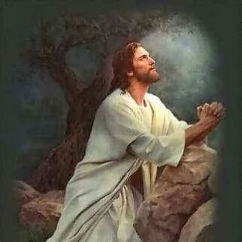 jesus praying in the garden holy pictures of jesus