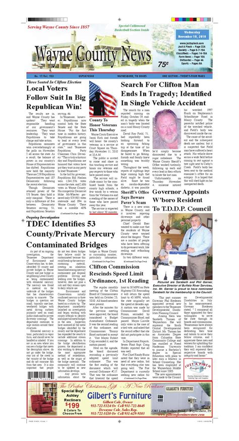 wayne county section 8 wayne county news 11 10 10 by chester county independent