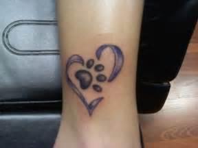 40 amazing dog paw tattoo design ideas