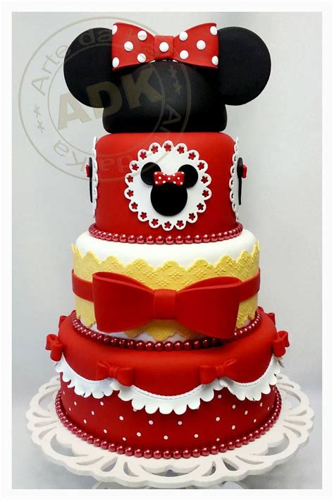 images  minnie mouse red cakes  pinterest minnie mouse cake mini mouse