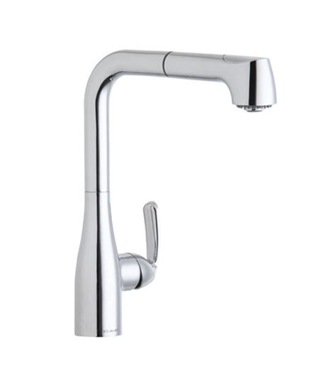 low flow kitchen faucet elkay gourmet lklfgt2041 low flow pull out kitchen faucet