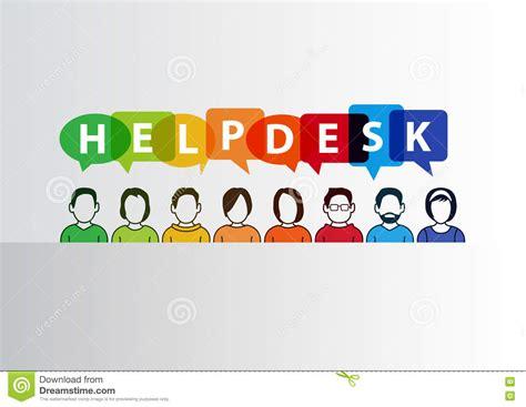 center help desk helpdesk illustration of of call center employees